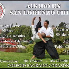 Clases San Lorenzo Chico, Salta